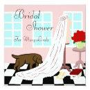 Chocolate Labrador Bridal Shower