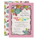 Colorful Boho Floral Mexican Fiesta Baby Shower