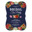 Colorful Floral Tea Party Bridal Shower