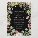 Country Floral Garden Bridal Shower Invite