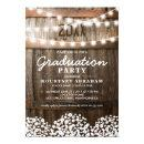 Country Rustic Graduation Party | Class of 2018 Card