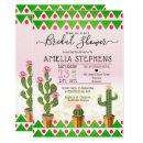 Cute Boho Chic Cactus Tribal Bridal Shower