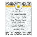 Daisy and Damask Wedding