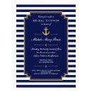 Dark Blue Nautical Bridal Shower