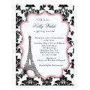 Eiffel Tower Pink Paris Bridal Shower