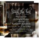 Elaborate Type, Photo Stock the Bar Couples Shower