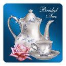 Elegant Blue Bridal Tea Party