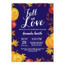 Fall in Love Autumn Harvest Pumpkin Bridal Shower
