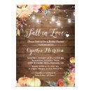 Fall in Love Floral String Lights Bridal Shower