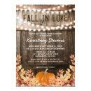 Fall in Love Rustic Fall Bridal Shower