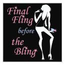 Final Fling before the Bling