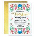 Gold Foil Floral Mexican Fiesta Bridal Shower