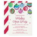 Holiday Ornament Holiday Open House Invitation