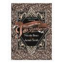 I DO BARBECUE BBQ Faux Rose Glitter Engagement