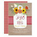 I Do BBQ Engagement Bridal Shower Invitation