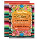 Mexican Fiesta Party Gold Glitter Rehearsal Dinner