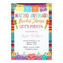 Mexican Floral Cactus Nacho Average Bridal Shower