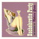 mod pattern retro pin up bachelorette party