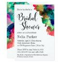 Modern Colorful Watercolor Bridal Shower 2