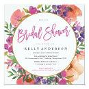 MODERN WATERCOLOR FLORAL bridal shower