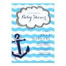 Nautical Baby Shower with Anchor
