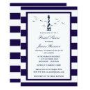 Nautical Navy Stripe Lighthouse Bridal Shower
