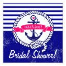 Navy Blue Anchor Nautical Bridal Shower