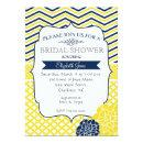 Navy Blue and Yellow Bridal shower