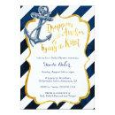 Navy & Gold Nautical Bridal Shower