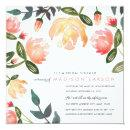 Peach Peonies Bridal Shower
