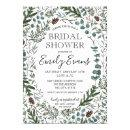 Pine and Eucalyptus Bridal Shower Invite