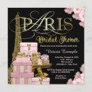 Pink Paris Bridal Shower