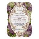 Pretty Modern Vintage Bridal Shower Lilac Floral