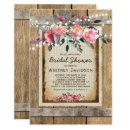 Rustic Bridal Shower Invite | Floral Chic Vineyard