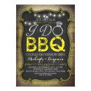 rustic I do BBQ couples shower  - yellow
