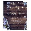 Rustic String Lights Floral Barnwood Bridal Shower