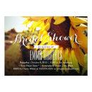 Rustic Sunflower Summer Bridal Shower