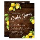 Rustic Wood & Lemons Bridal Shower Typography