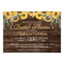 Rustic Wood Sunflower Country Barn Bridal Shower