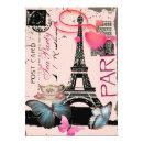 Sophisticated Paris eiffel tower vintage tea party