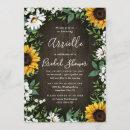 Sunflower Rustic Country Floral Bridal Shower