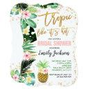 Tropical Bridal Shower  Pineapple Shower