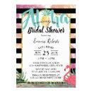 Tropical Pineapple Aloha Flamingo Bridal Shower