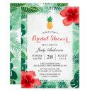 Tropical Pineapple Hawaiian Hibiscus Bridal Shower
