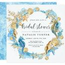 Under the Sea Blue & Gold Bridal Shower