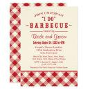 Wedding Shower  | Casual BBQ in Red