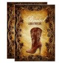 western cowboyboots vintage bridal shower