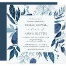 Wild Azure Bridal Shower  | Square