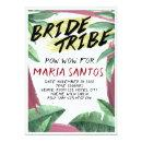 Wild Tropical Themed Bridal Shower
