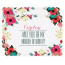 Will you be my Matron of Honor? Custom